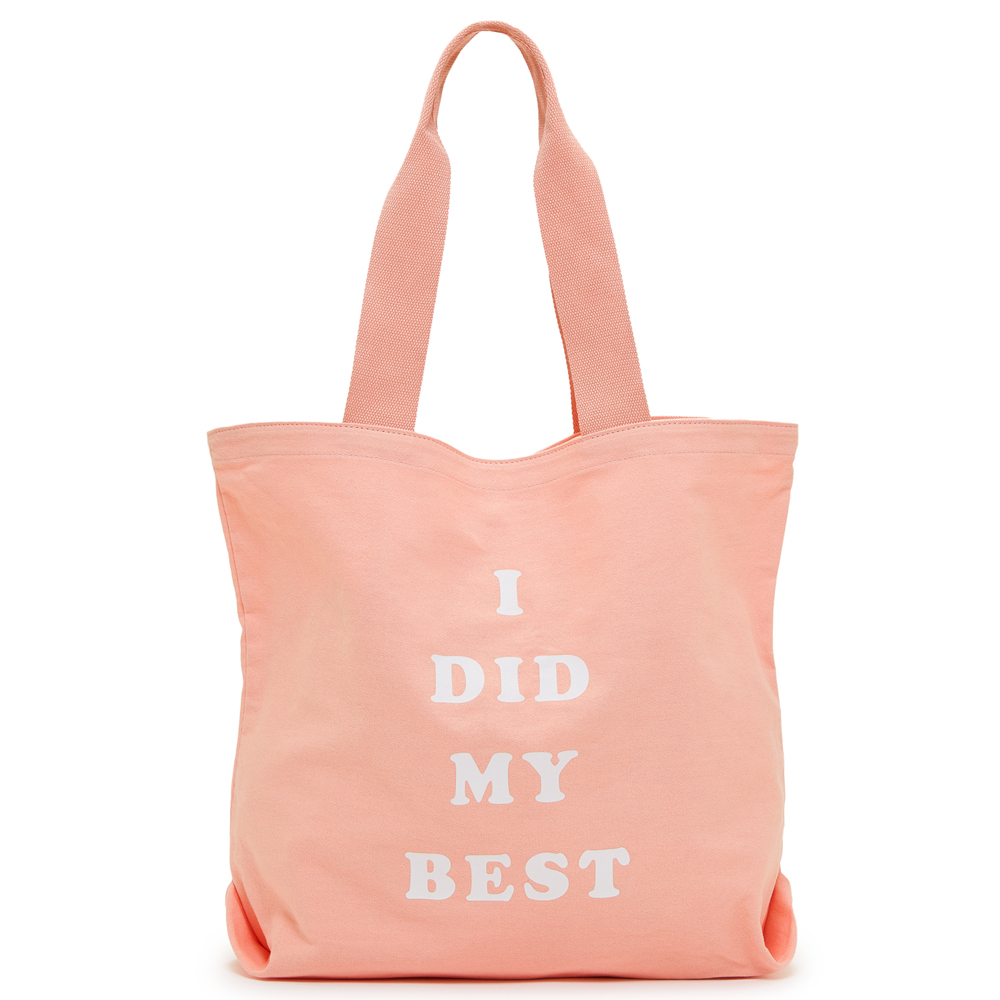ban.do I Did My Best Canvas Tote