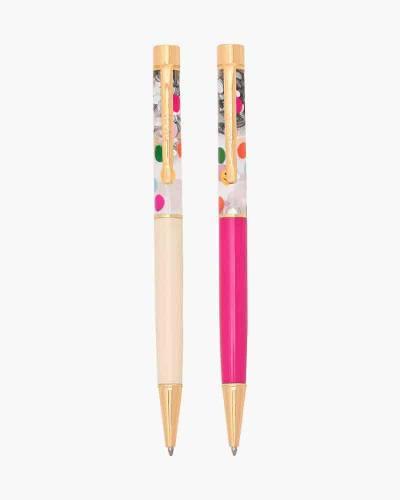 Balloon Drop Glitter Bomb Pen Set