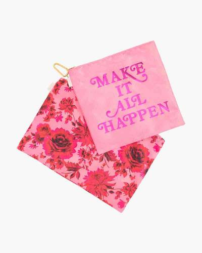 Make It All Happen and Potpourri Large Carryall Duo