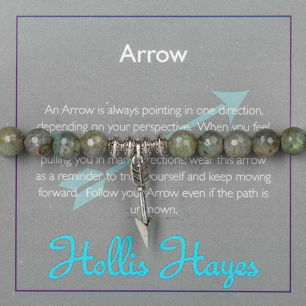 Hollis Hayes Silver Arrow Beaded Bracelet