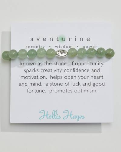 Exclusive Aventurine Beaded Bracelet (The Healing Collection)