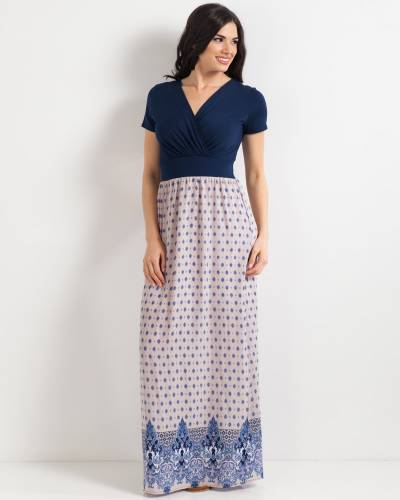 Exclusive Patterned Maxi Dress