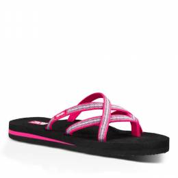 Teva Olowahu Women's Sandals in Pintado Raspberry