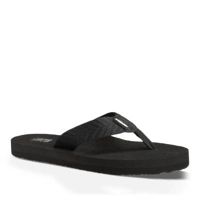 Mush II Women's Sandals in Fronds Black