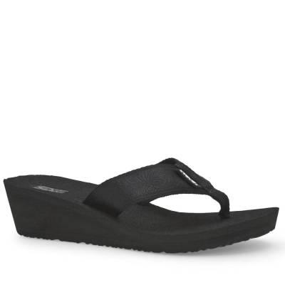 Mush Mandalyn Wedge 2 Women's Sandals in Black Out