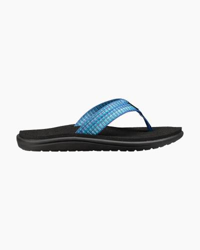 Women's Voya Flip Flops in Bar Street Blue