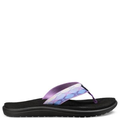 Women's Voya Flip Flops in Terra Purple