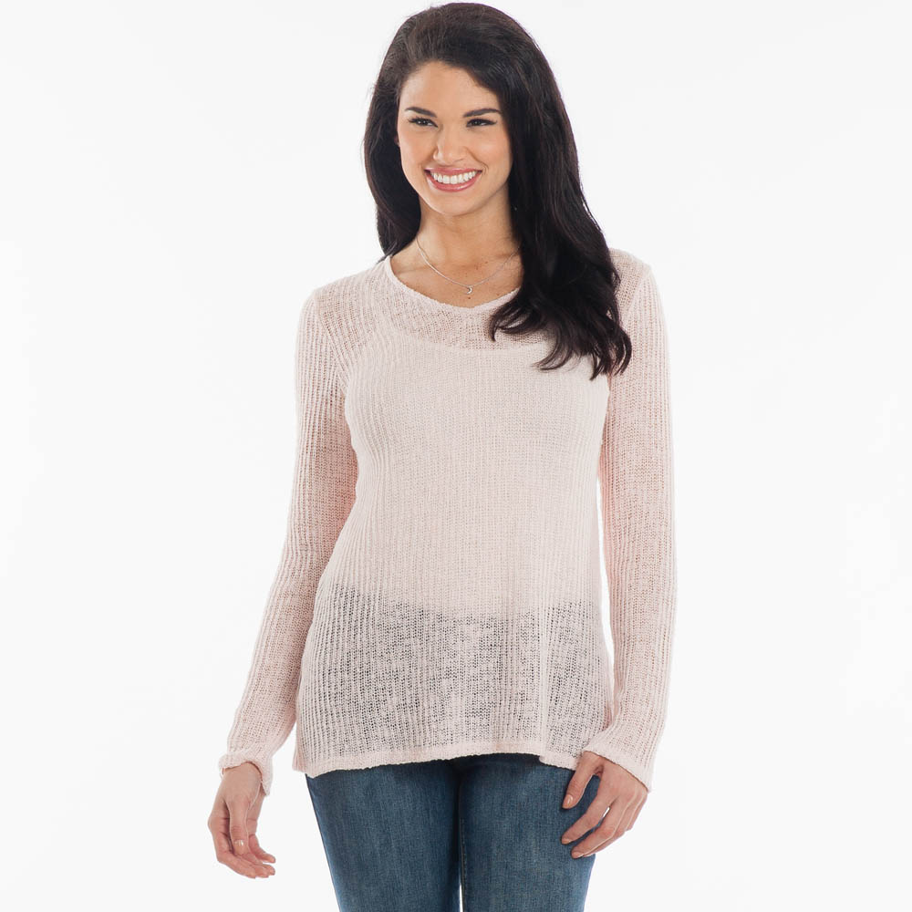 Rokoko Open-Weave Sweater