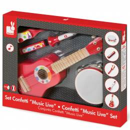 Janod Confetti Musical Instrument Play Set