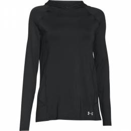 Under Armour Women's UA CoolSwitch Trail Hoodie in Black