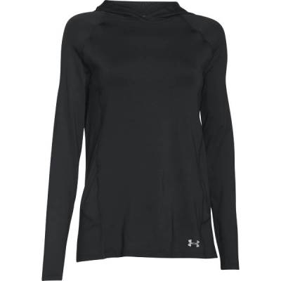Women's UA CoolSwitch Trail Hoodie in Black