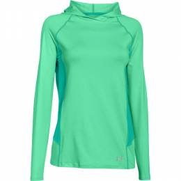 Under Armour Women's UA CoolSwitch Trail Hoodie in Mint