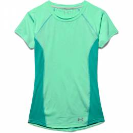 Under Armour Women's UA Coolswitch Trail T-Shirt in Mint