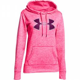 Under Armour Women's UA Armour Fleece Big Logo Twist Hoodie