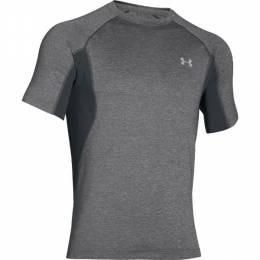 Under Armour Men's UA Coolswitch Trail T-Shirt in Granite
