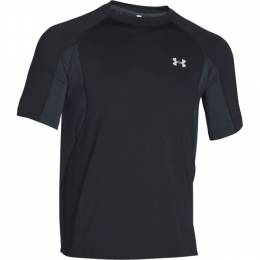 Under Armour Men's UA Coolswitch Trail T-Shirt in Black