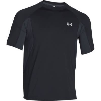 Men's UA Coolswitch Trail T-Shirt in Black