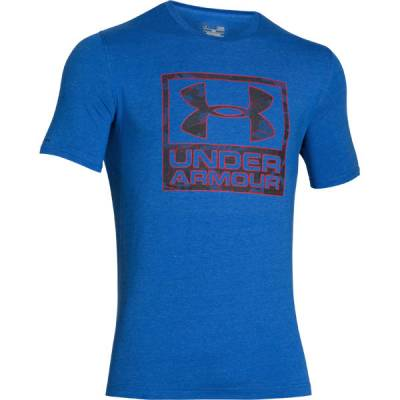 Men's UA Hail Graphic T-Shirt in Ultra Blue