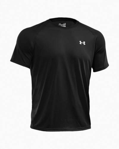 Men's UA Tech Short Sleeve Tee in Black