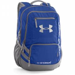 Under Armour UA Storm Hustle II Backpack in Royal