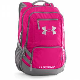 Under Armour UA Storm Hustle II Backpack in Tropic Pink