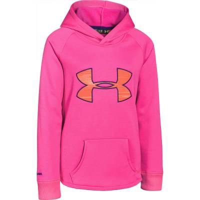 Girl's UA Storm Armour Fleece Rival Hoodie