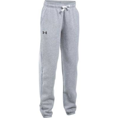Girl's UA Favorite Fleece Jogger in Heather Grey