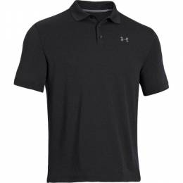Under Armour Men's UA Performance Golf Polo in Black