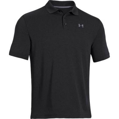 Men's UA Performance Golf Polo in Black