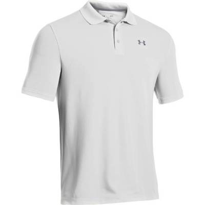 Men's UA Performance Golf Polo in White