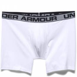 Under Armour Men's UA Original Series Boxerjock in White