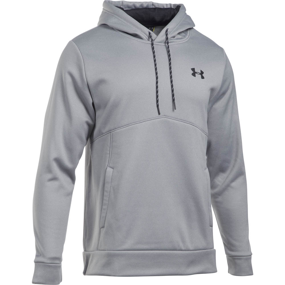 Under Armour Men's UA Storm Armour Fleece Hoodie in Grey