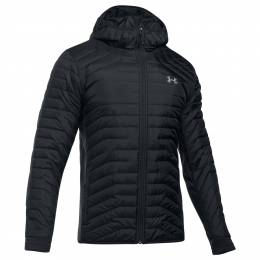 Under Armour Men's UA Coldgear Reactor Hybrid Jacket in Black
