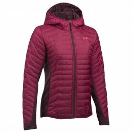 Under Armour Women's UA Coldgear Reactor Hybrid Jacket in Premiere Purple