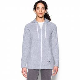 Under Armour Women's UA Wintersweet Full Zip Hoodie in Grey