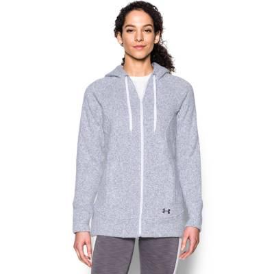 Women's UA Wintersweet Full Zip Hoodie in Grey