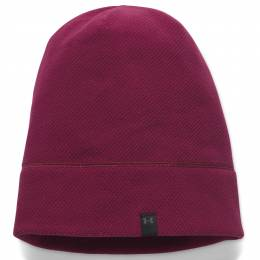 Under Armour Women's UA Armour Fleece Beanie in Black Currant