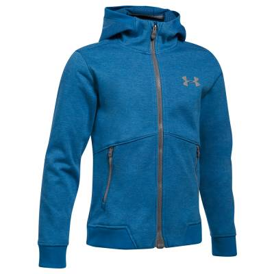 UA Storm Dobson Softshell Boy's Jacket in Blue