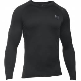 Under Armour Men's UA Base 2.0 Long Sleeve Shirt in Black