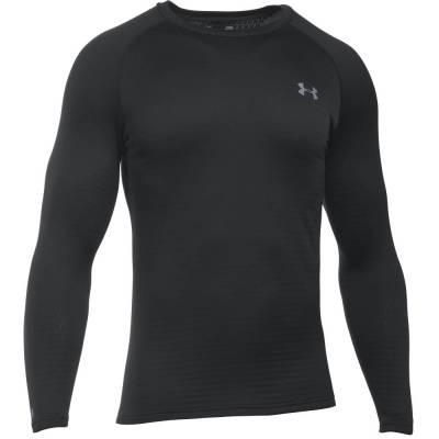 Men's UA Base 2.0 Long Sleeve Shirt in Black