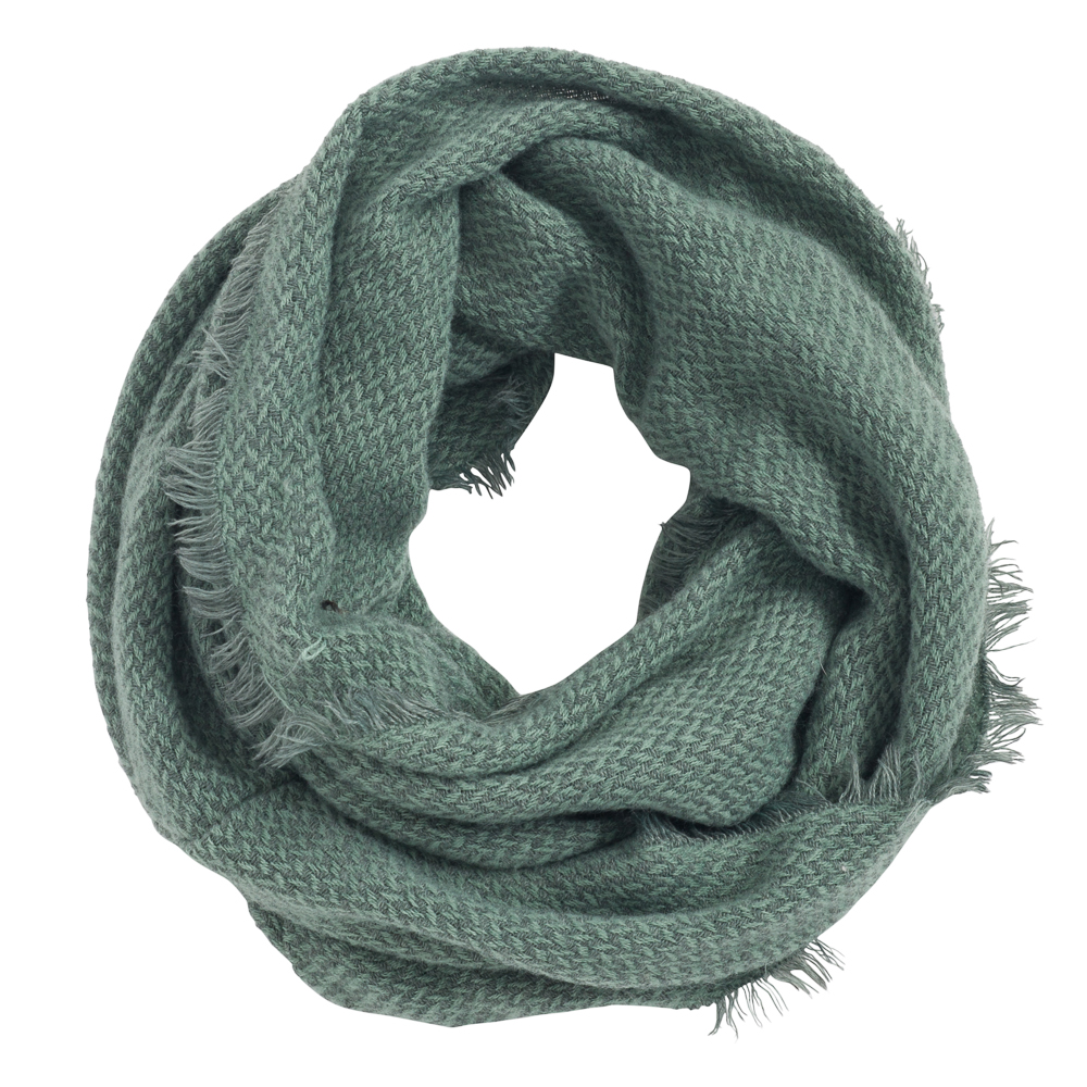 Laon Fashion Mini Chevron Infinity Scarf