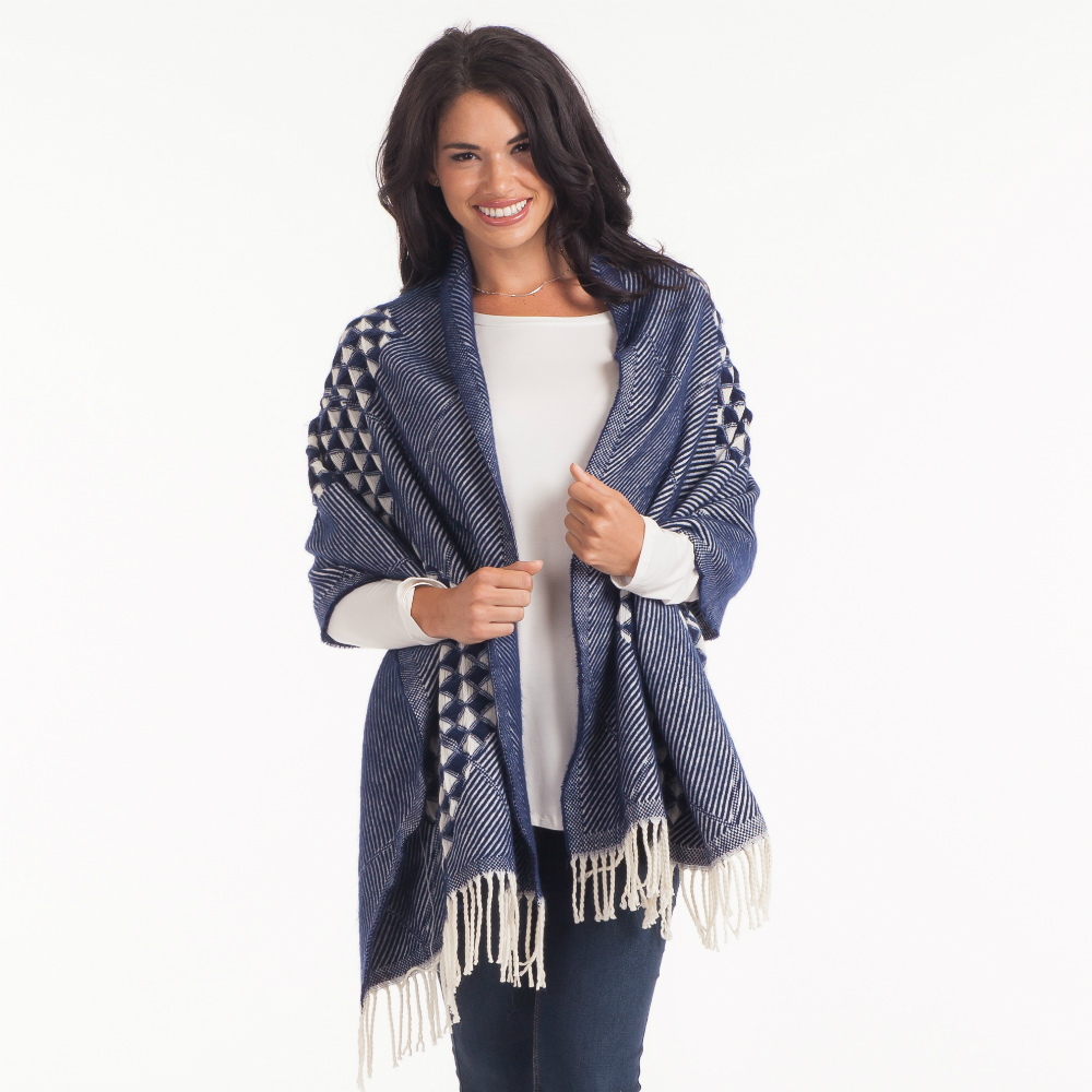 Laon Fashion Oversized Multi-Pattern Blanket Scarf