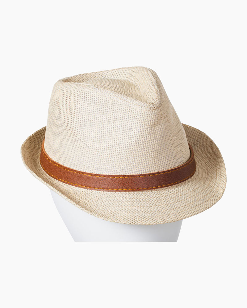 Laon Fashion Straw Fedora