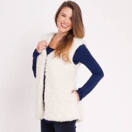 Laon Fashion Faux Fur Vest