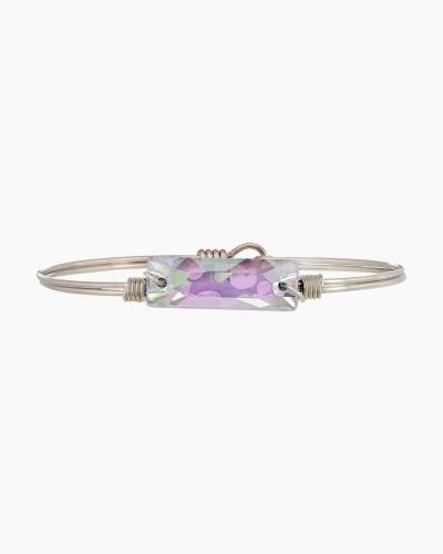 Hudson Bangle Bracelet in Ultra Violet AB