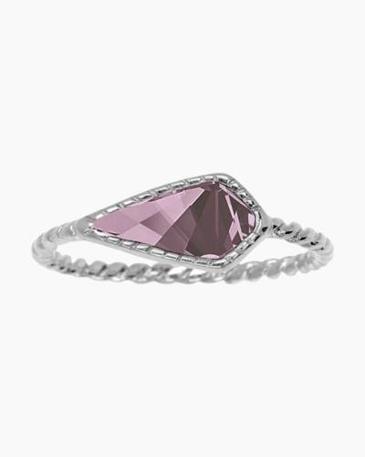 Sloane Ring in Antique Pink