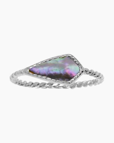 Sloane Ring in Crystal Aurora Borealis