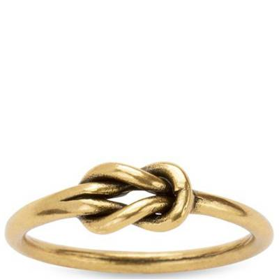 Love Knot Ring in Gold