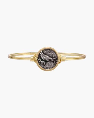 Cardinal Bangle Bracelet in Gold