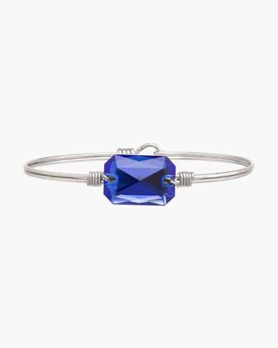 Dylan Regular Bangle Bracelet in Majestic Blue